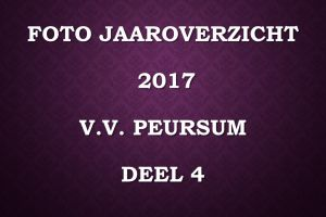 Foto jaaroverzicht v.v.Peursum deel 4