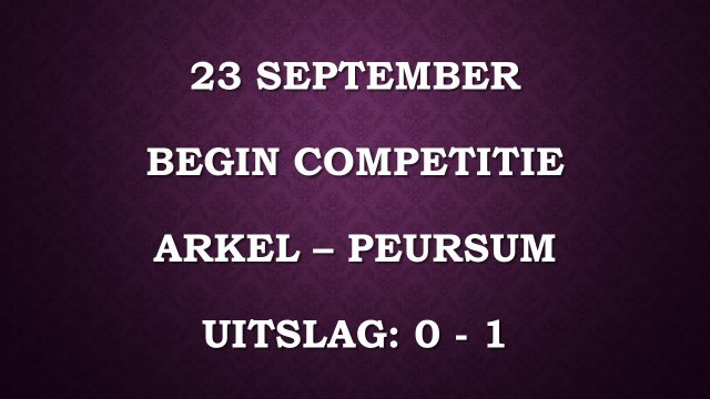 123a 23 september arkel - peursum