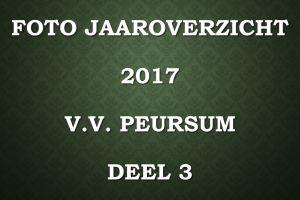 Foto jaaroverzicht v.v. Peursum deel 3